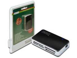 Assmann/Digitus CARD READER USB 2.0 BLACK