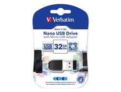 Verbatim NANO STORE N STAY 8GB USB2.0