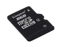 Kingston SDHC Card Micro 8GB