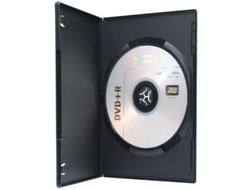 Ednet DVD Single Case slim, 10 Stück