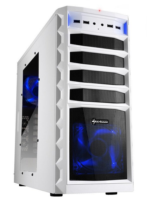 Computerhaus Komplettsystem *WHITE-EDITION* Intel Core i5-7600K 4x 3.8GHz, 16GB RAM, 240GB SSD, DVD-Brenner