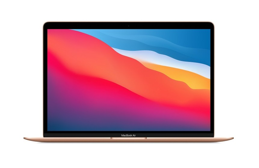 "Apple MacBook Air 13"" M1 Chip 8-Core CPU und 7-Core GPU, 8GB RAM, 512GB SSD, gold"