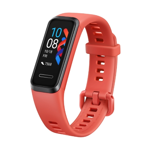 Huawei Band 4 Amber Sunrise [2,4cm (0,96) TFT LCD Display, Bluetooth 4.2, 5 ATM]