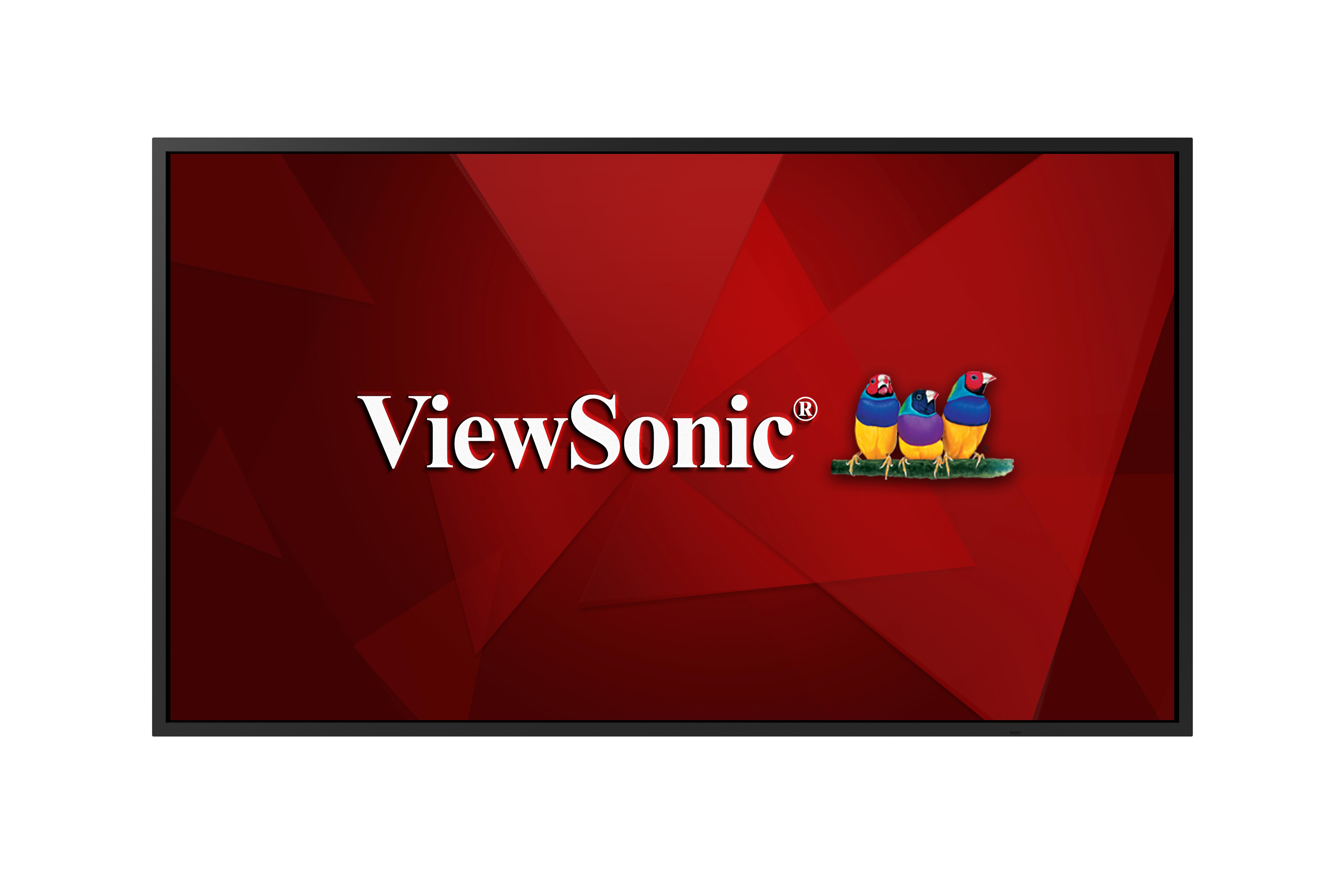 ViewSonic CDE4320 109,22cm 43Zoll LED commerical display 3840x2160 350nits 1100:1 6ms RT 178/178 10Wx2 build in Speakers HDMIx2 DVI