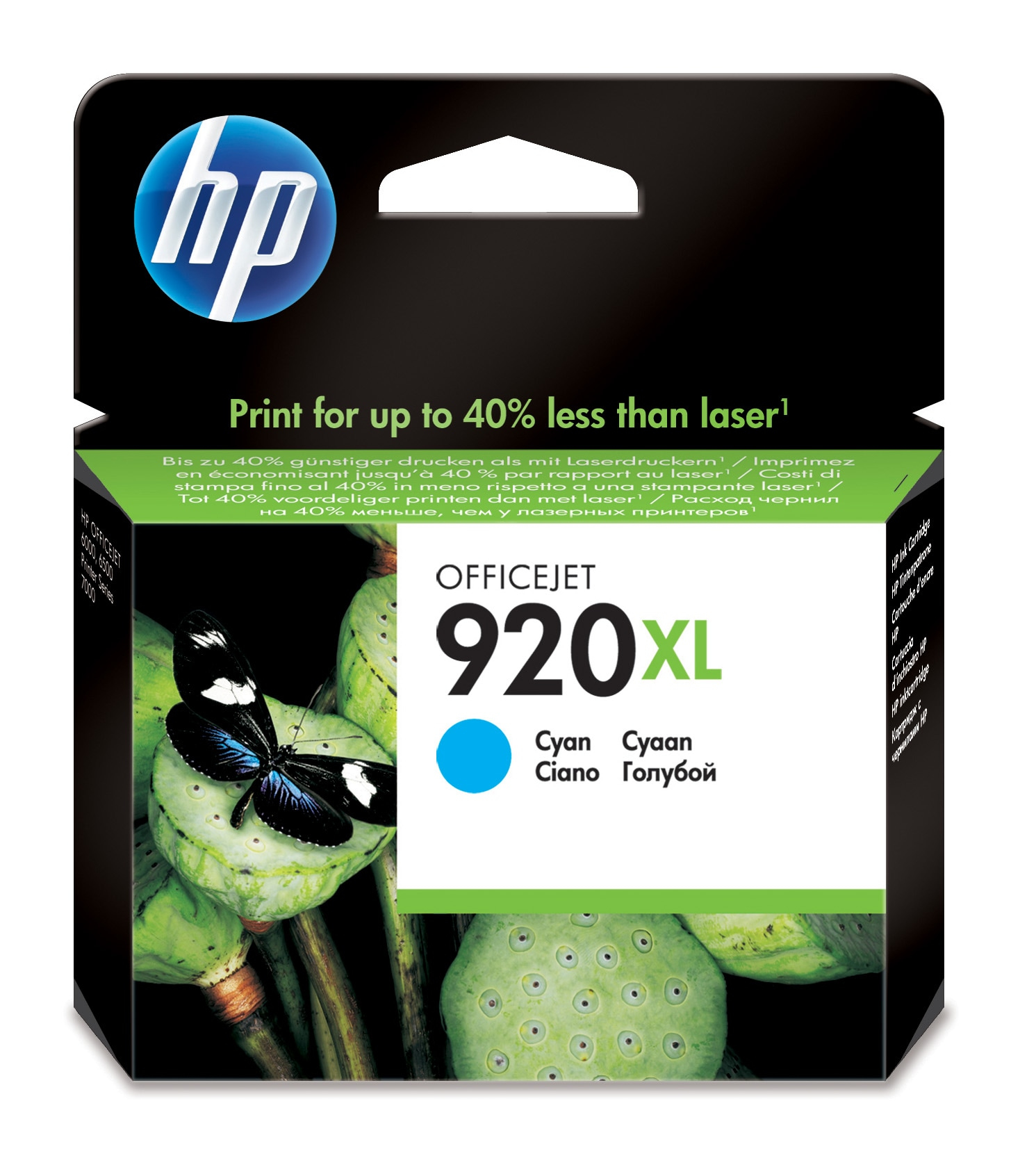 Hewlett Packard (HP) Tinte Nr. 920 XL [cyan]