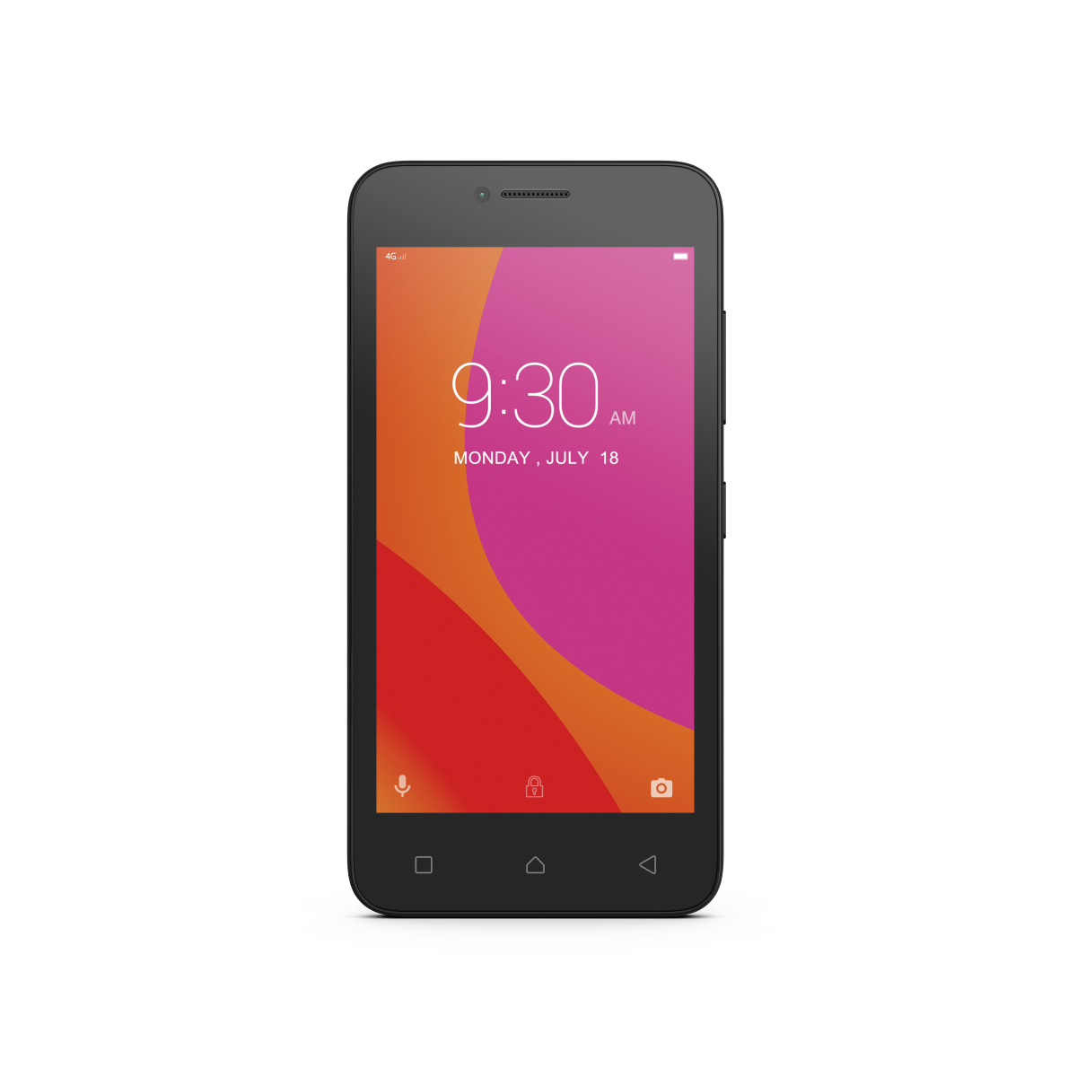 Lenovo B Smartphone (11,4 cm (4,5 Zoll), 8 GB, Android) Schwarz