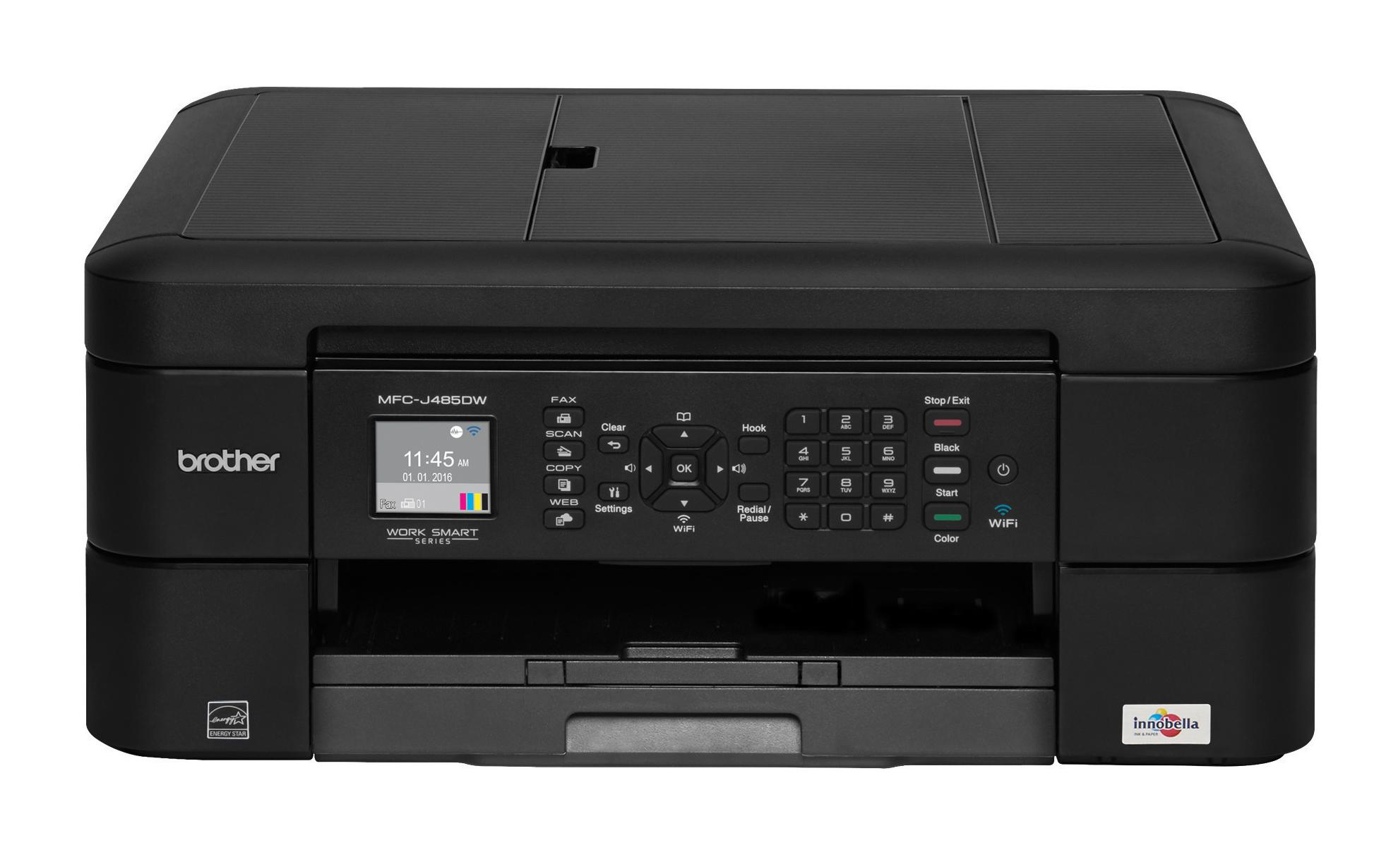 Brother MFC-J480DW MFP A4 color USB inkjet 12ppm print scan copy fax WLAN