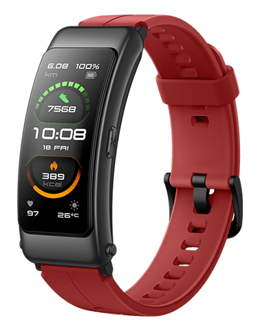 Huawei TalkBand B6 Sport Coral Red [3,89cm (1,53) OLED Display, Bluetooth 5.2, IP57]