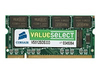 Corsair SO DDR 512MB PC  333 CL3    Value Select retail