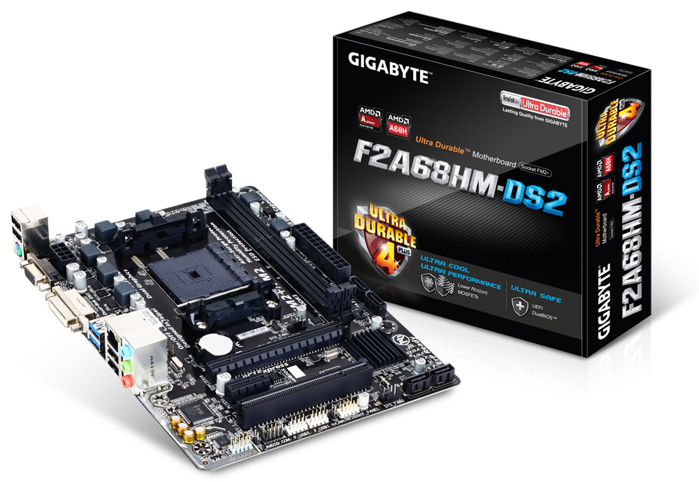 GigaByte F2A68HM-DS2 Intel Motherboard
