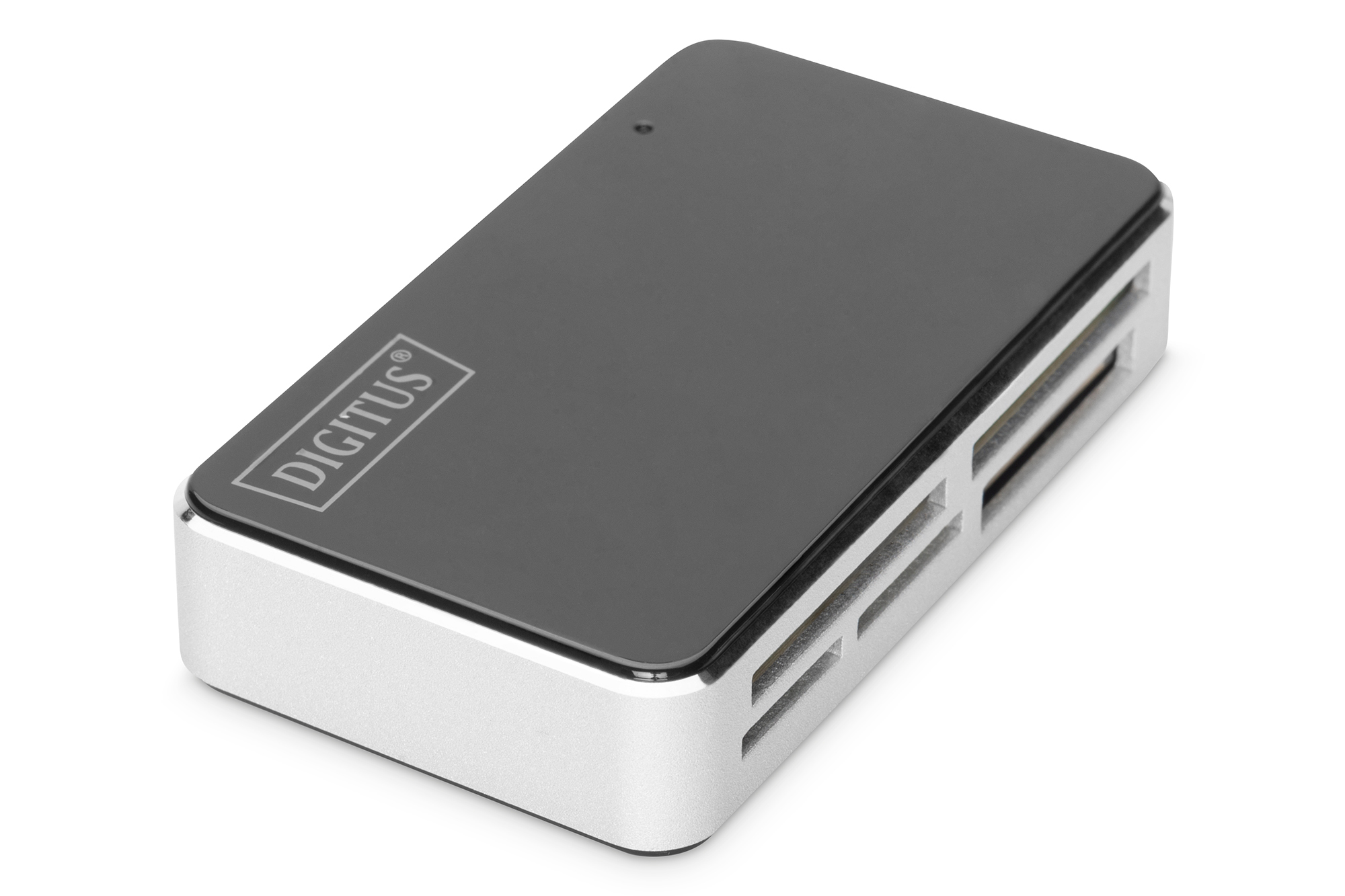 Digitus CardReader USB All-in-One, black/silber