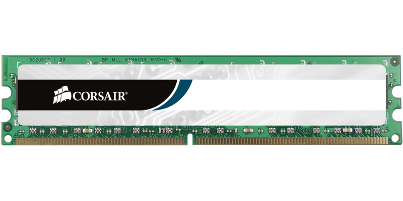Corsair DDR1  512MB PC 400 CL2.5  Value Select retail