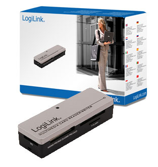 LogiLink Card Reader USB Mini All-in-One extern