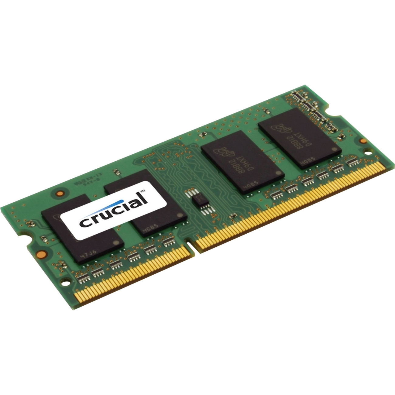 Crucial 2GB DDR3 1600 MT/s PC3-12800 SODIMM 204pin single