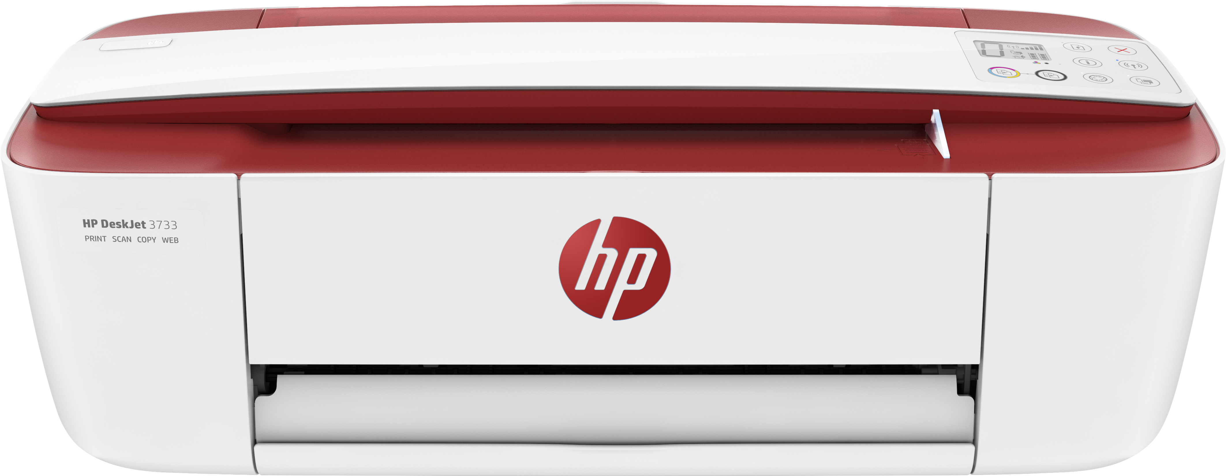 Hewlett Packard (HP) HP Deskjet 3733 All-in-One Drucker (Red)