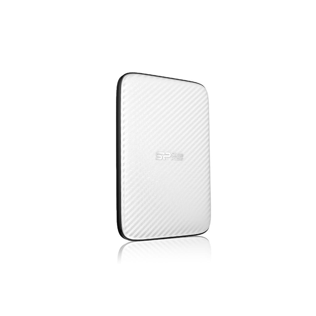 Silicon Power 6.3cm (2.5 Zoll) 500GB 3.0 D20 White 7mm slim