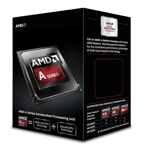 AMD FM2 A6 BOX 6400K 3,90GHz 2xCore 65W
