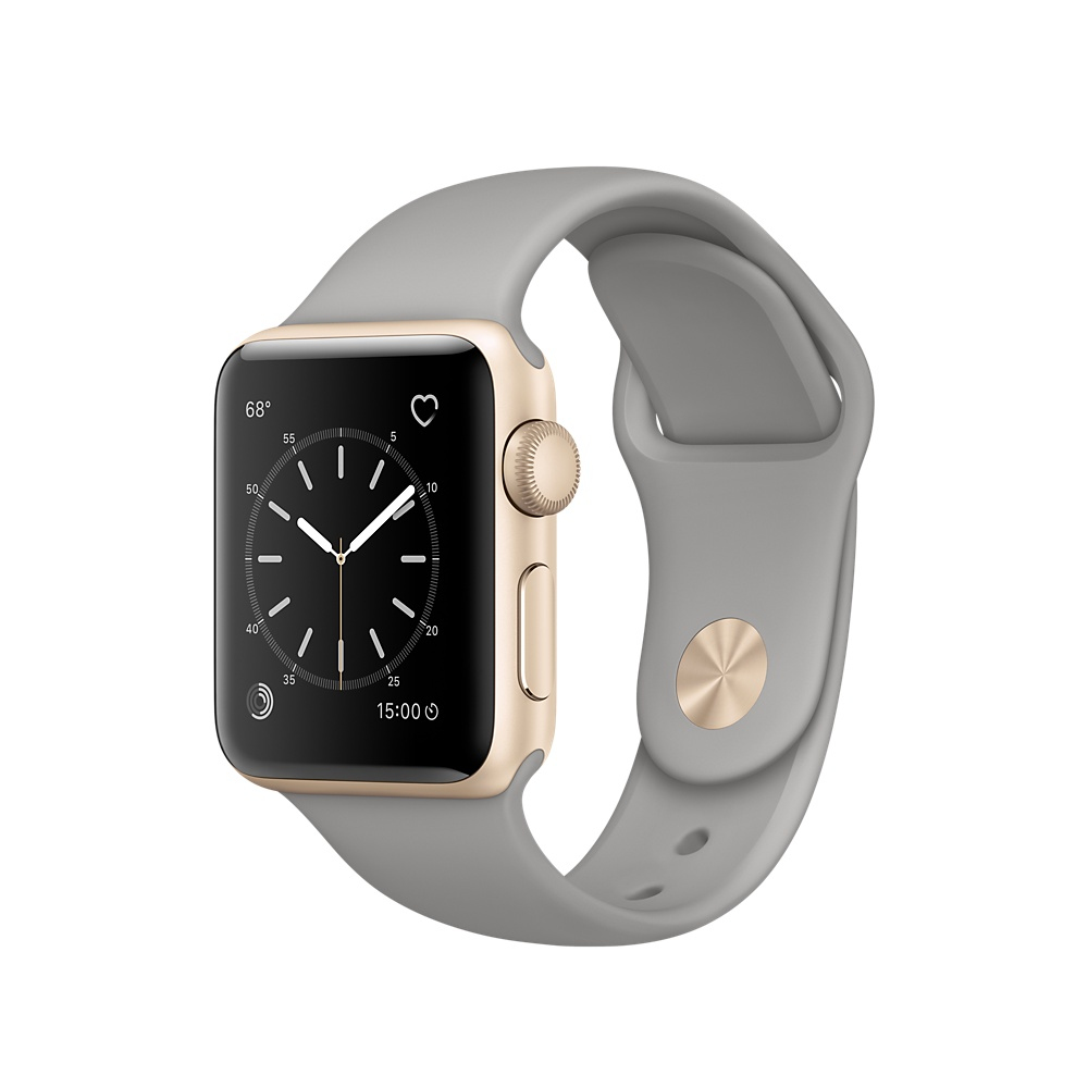 Apple Watch Series 1, 38mm Gold Aluminiu