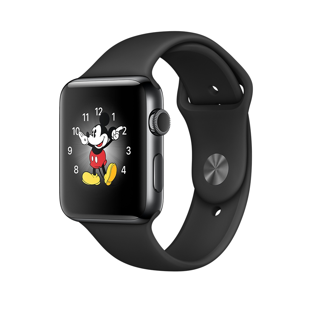 Apple Watch Series 2, 38mm Space Black S