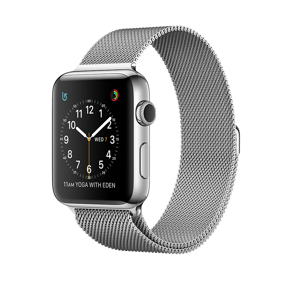 Apple Watch Series 2, 38mm Stainless Ste
