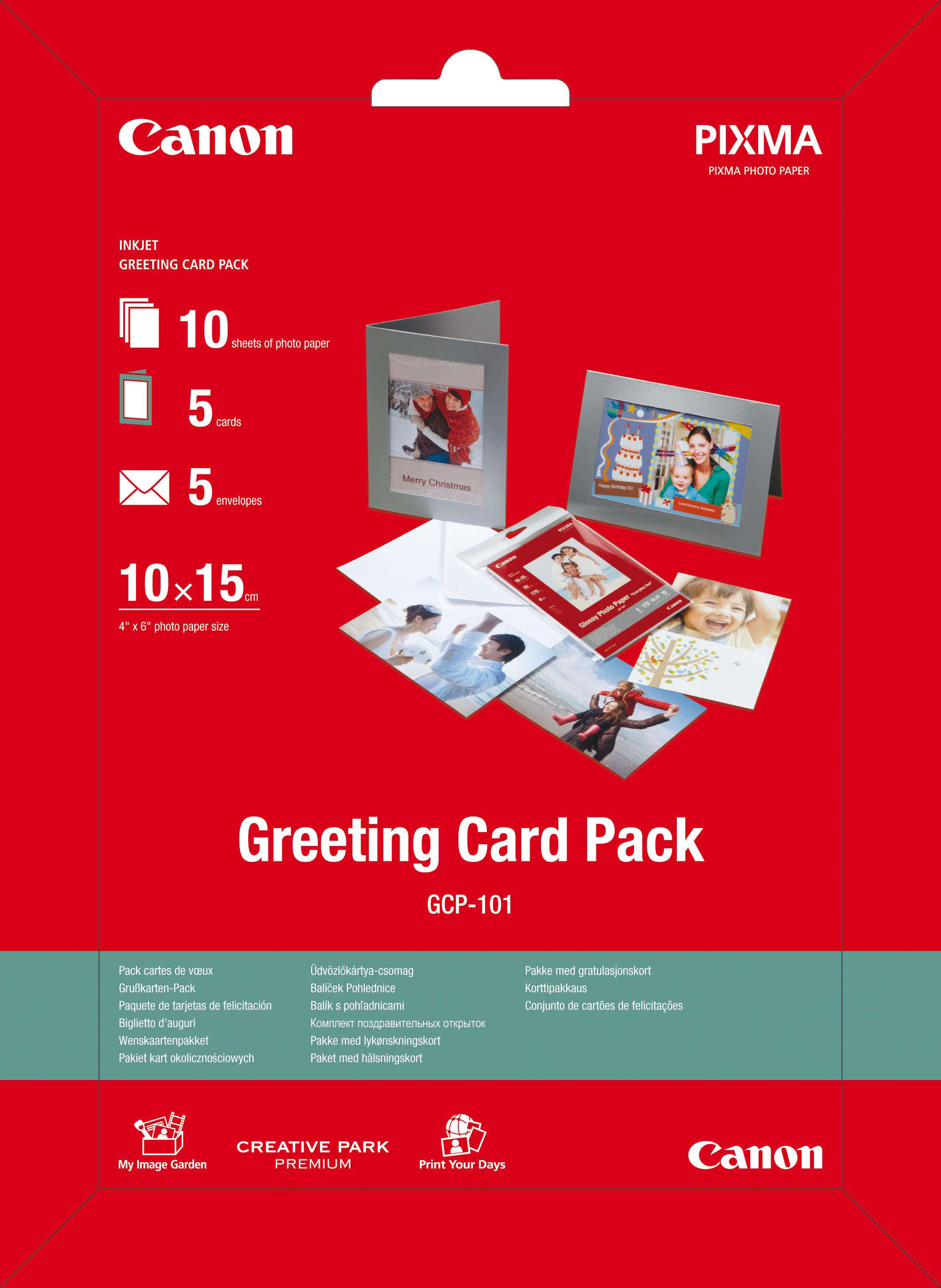 Electronicshop24 Notebooks Computer Tvs Und Vieles Mehr Zu Top Pop Ice Paket Bundle Canon Gp 501 Greetin Card Pack 100x150mm 10 Blatt