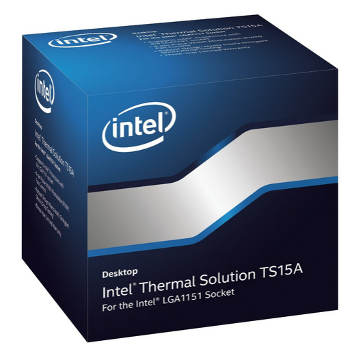 Intel BXTS15A Thermal Solution TS15A for  Core processor families with LGA 1151 socket