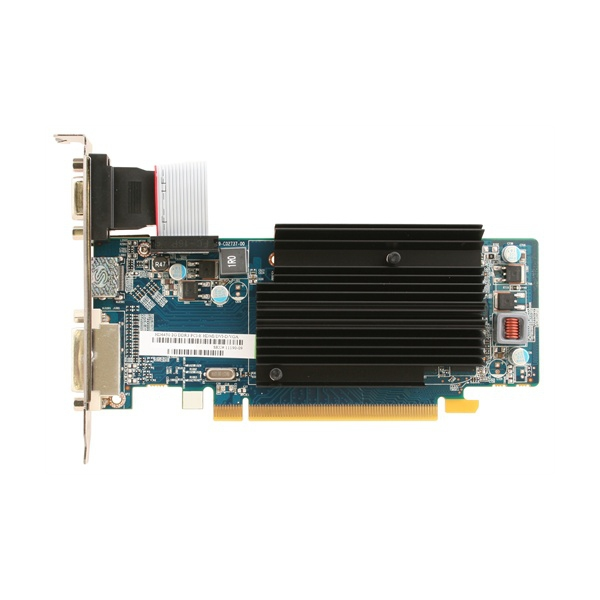 Sapphire Radeon HD6450 2048MB DDR3 PCI-E 64bit HDMI DVI-D VGA passiv LRTL Single Slot