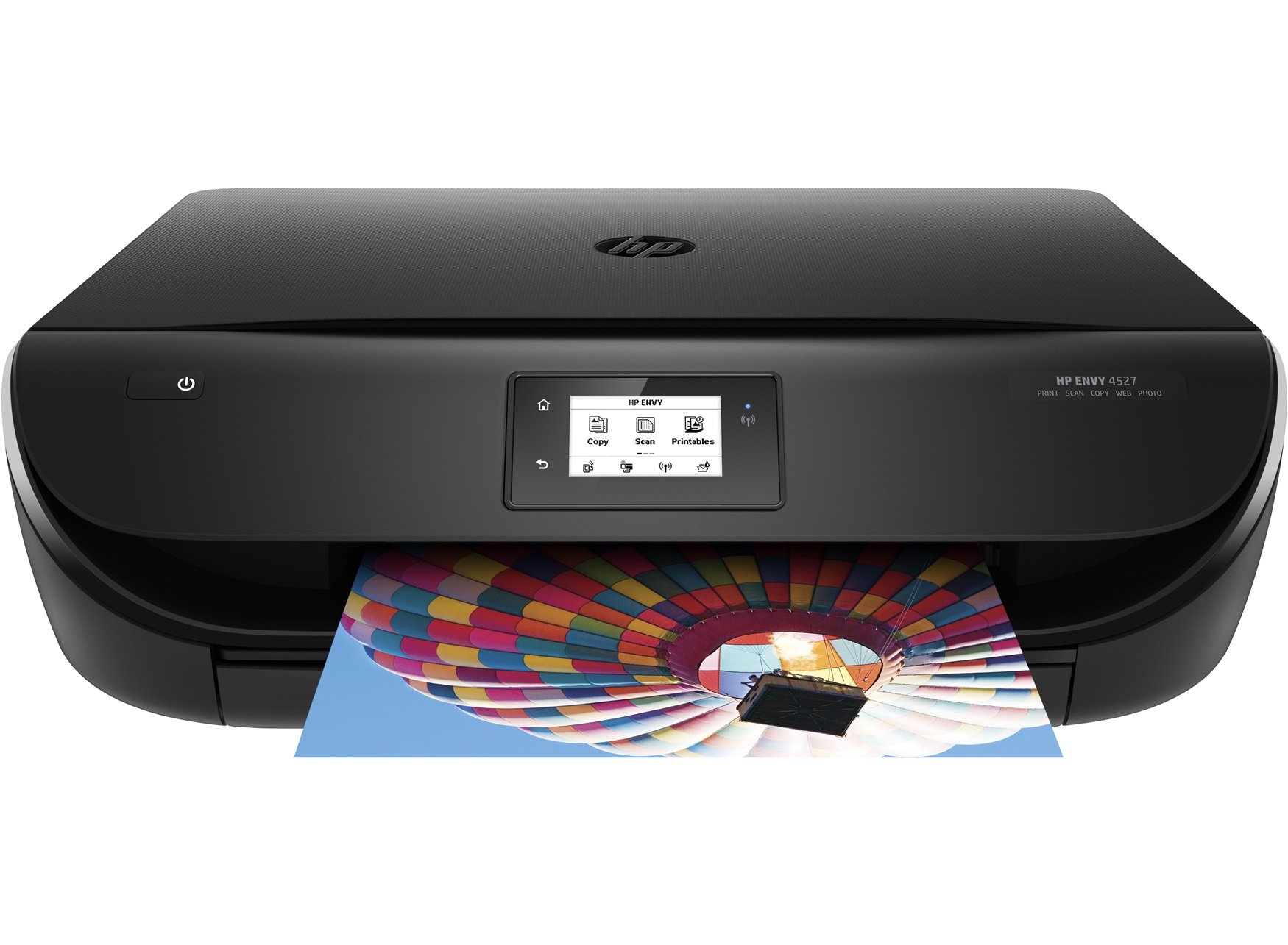 Hewlett Packard (HP) Envy 4525 Multifunktionsdrucker (Fotodrucker, Scanner, Kopierer,  Instant Ink ready, Airprint, ePrint, Duplex, WiFi Direct, 4800 x 1200 dpi) schwarz