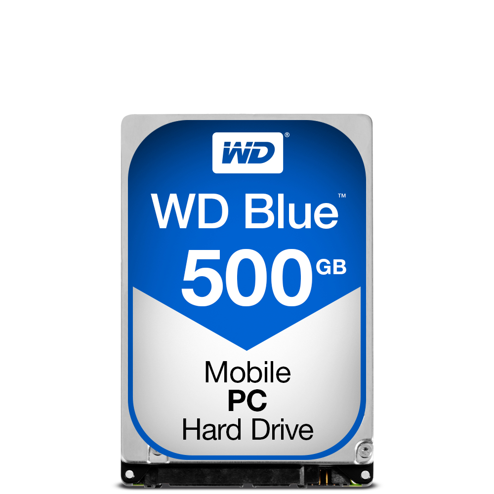 "Western Digital WD Blue 500 GB, SATA-6Gb, 2.5"", 5400rpm, 16MB, 7mm"