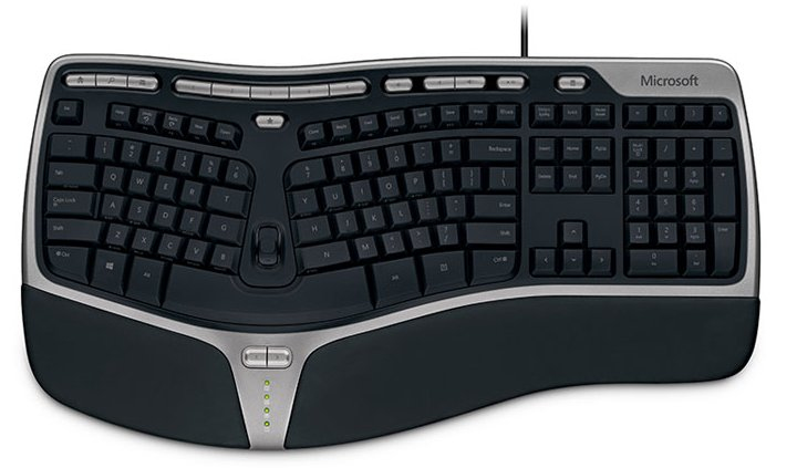 Microsoft Natural Ergonomic Keyboard 4000 black