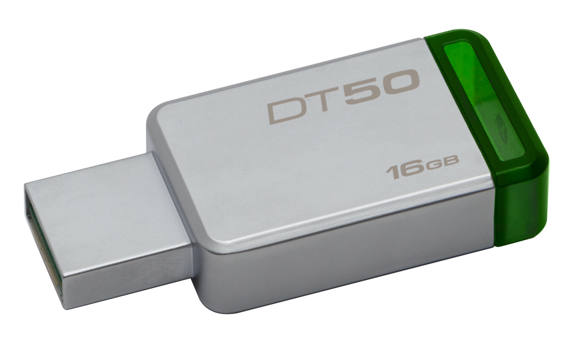 Kingston USB3.0 Stick 16GB  DataTraveler 50 green