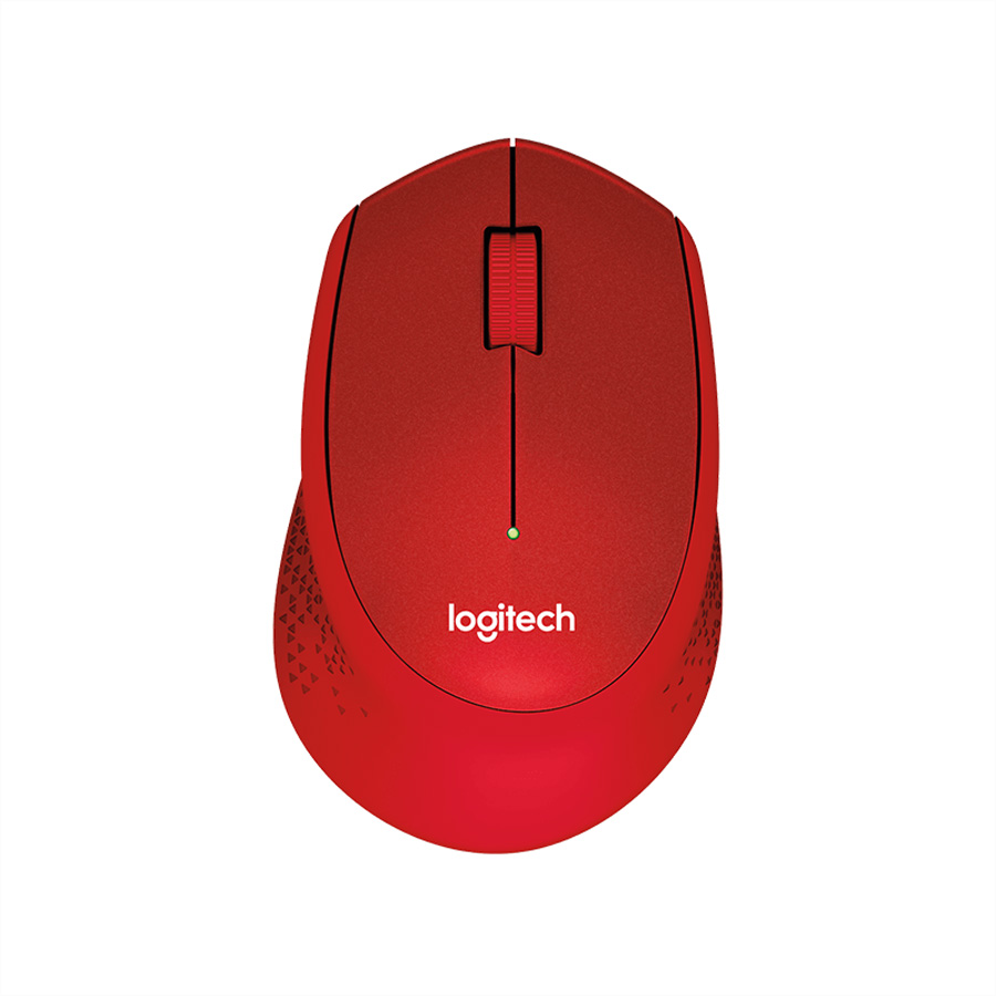 Logitech M330 SILENT PLUS wireless Rot