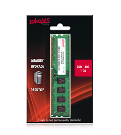 takeMS DDR1  1GB PC  400 CL3     (64x8) retail