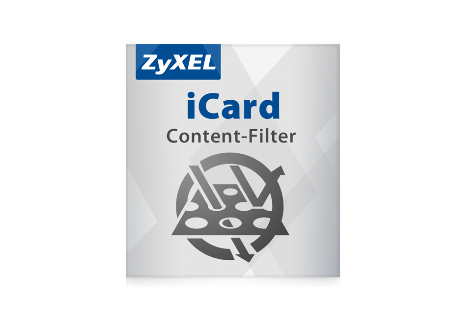 Zyxel E-iCARD 1 YR Commtouch Content Filtering License for ZyWALL USG 1000