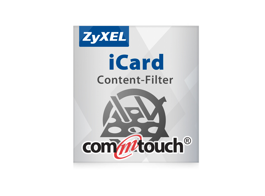 Zyxel Lizenz E-iCard 1YR 1YR Commtouch Content Filter 1 year for ZyWALL USG 50