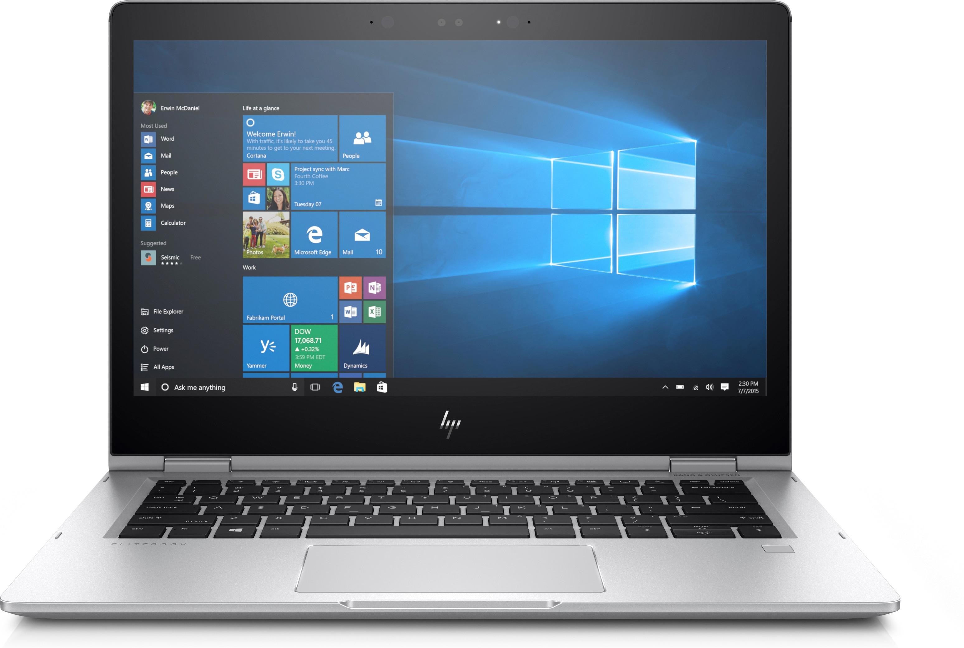 Hewlett Packard HP HP Business EliteBook x360 1030 G2 13 3 512GB SSD