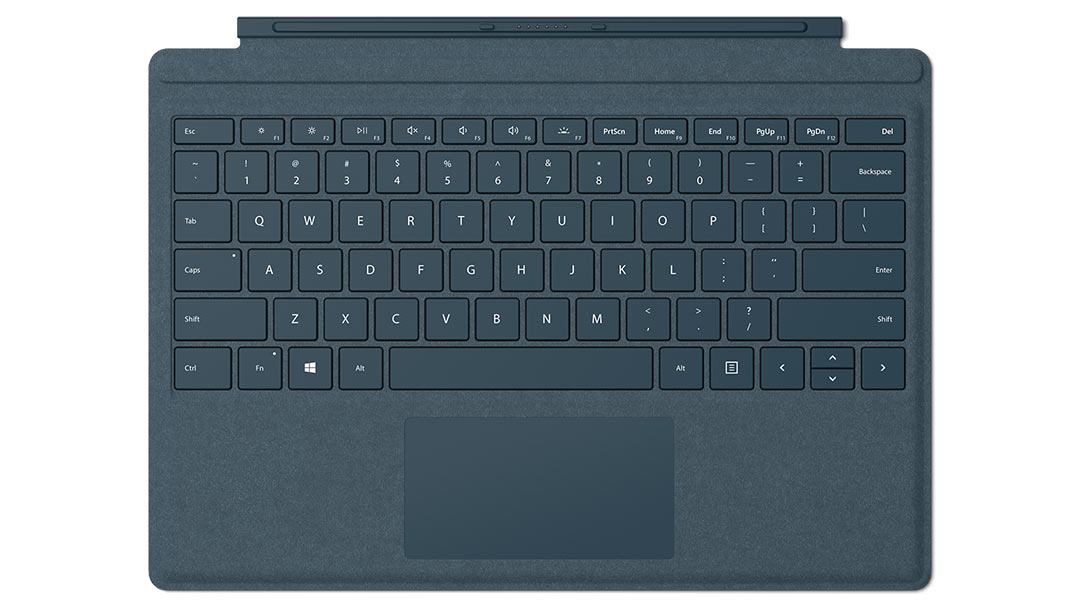 Microsoft Surface Pro Signature Type Cover Cobalt Blue (Retail)