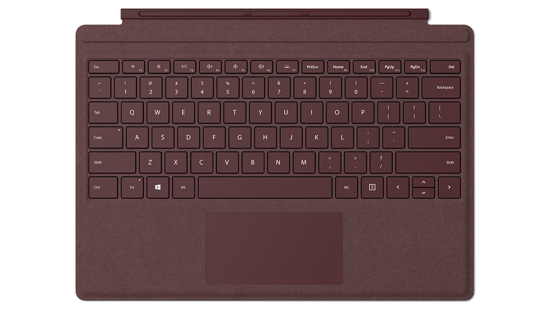 Microsoft Surface Pro Signature Type Cover Burgundy (Retail)