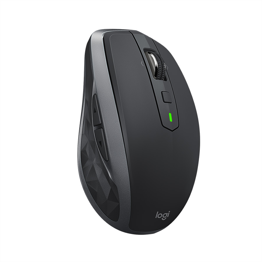 Logitech MX Anywhere 2S RF Kabelos + Bluetooth 4000DPI black-Grau