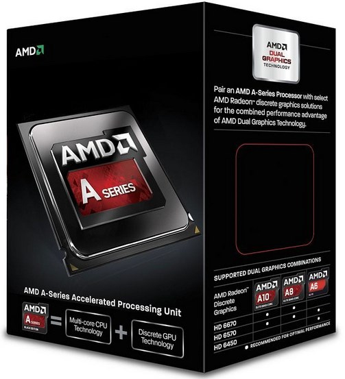 AMD FM2 A6 BOX 6420K 4,00GHz 2xCore 65W