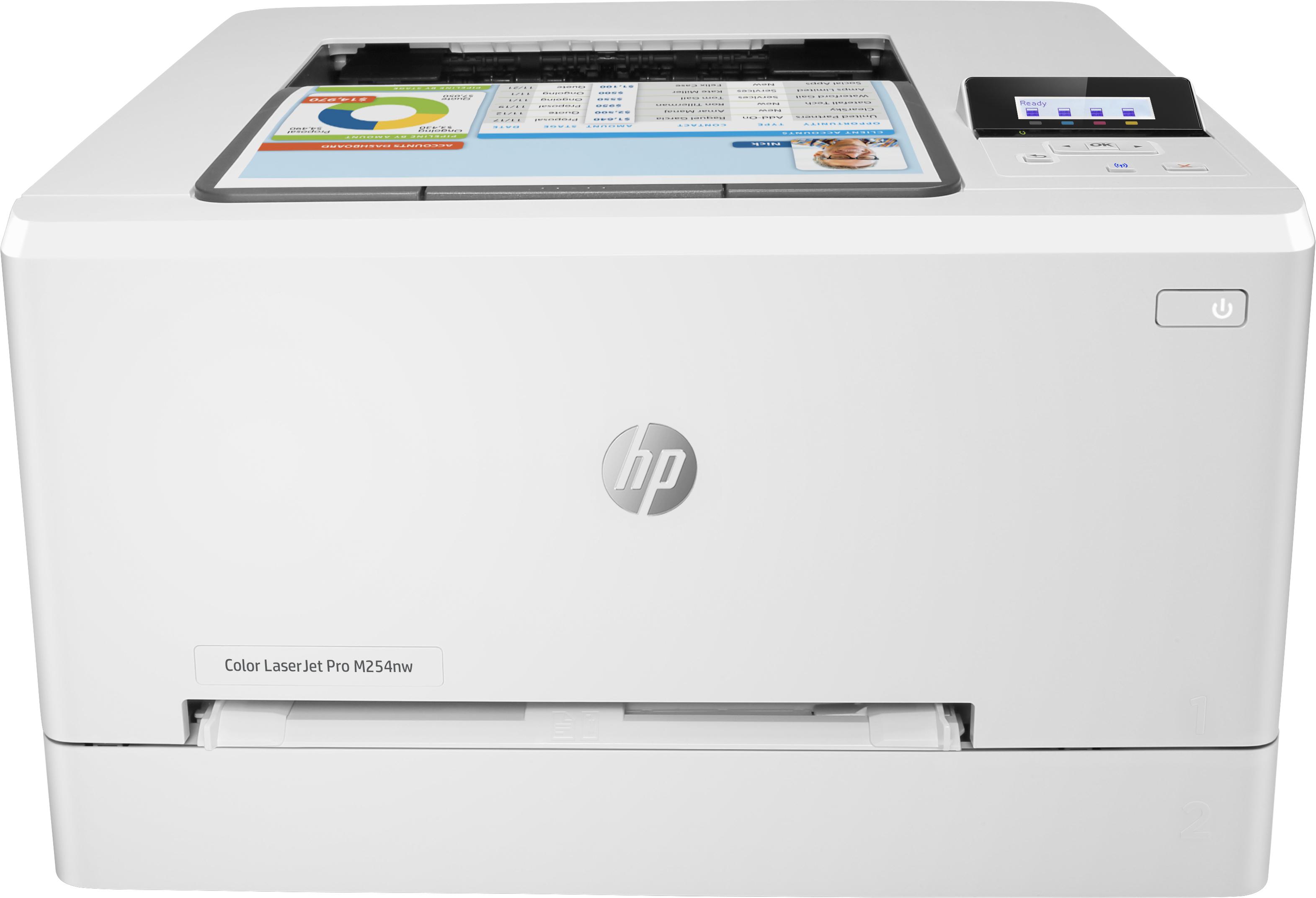 Hewlett Packard HP HP Color LaserJet Pro M254nw Printer