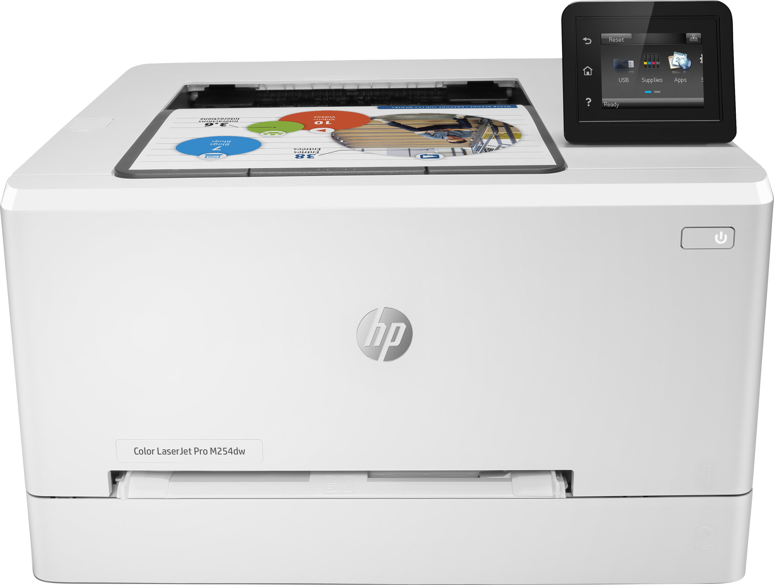 Hewlett Packard HP HP Color LaserJet Pro M254dw T6B60A