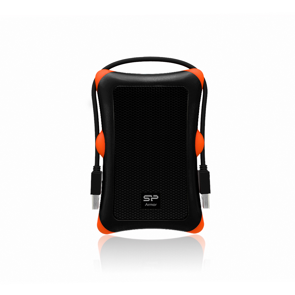 Silicon Power 6.3cm (2.5 Zoll) 1TB USB3.0 A30 Anti-shock Black extern retail