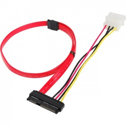 Intel SATA cable AXXCBL880SATA One 880mm SATA cable for OOD Orderable in packs of 10