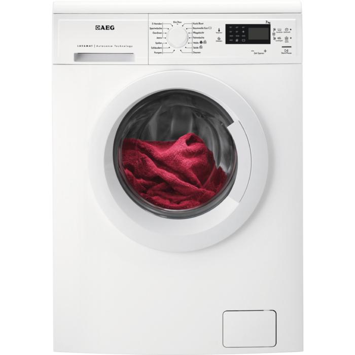 1400 UpM Display weiß AEG Lavamat L6FB50478 Waschmaschine 7KG EEK A++