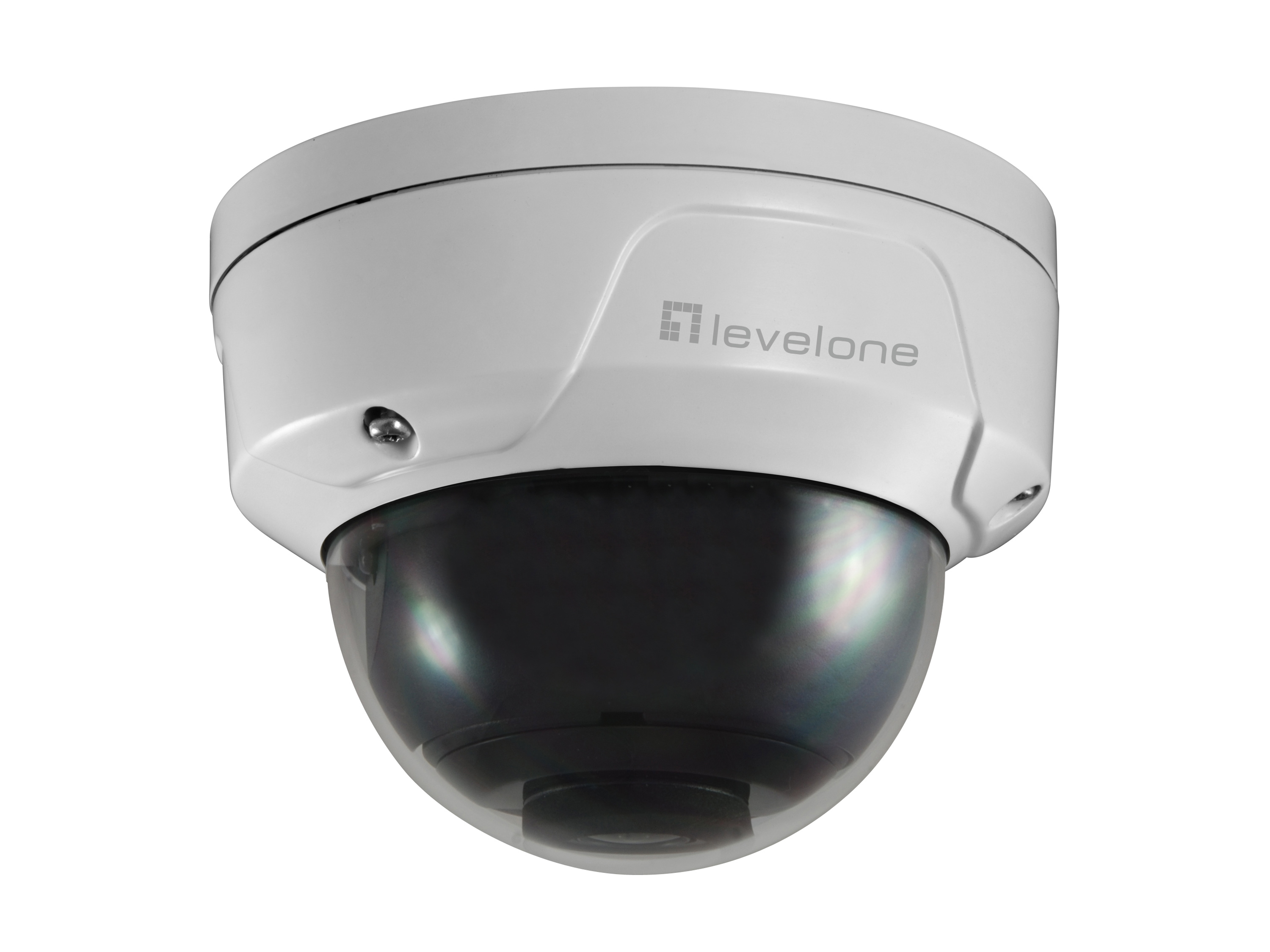 LevelOne FCS-3090 Dome Out IPCam 5MP H.265 IR  7W PoE