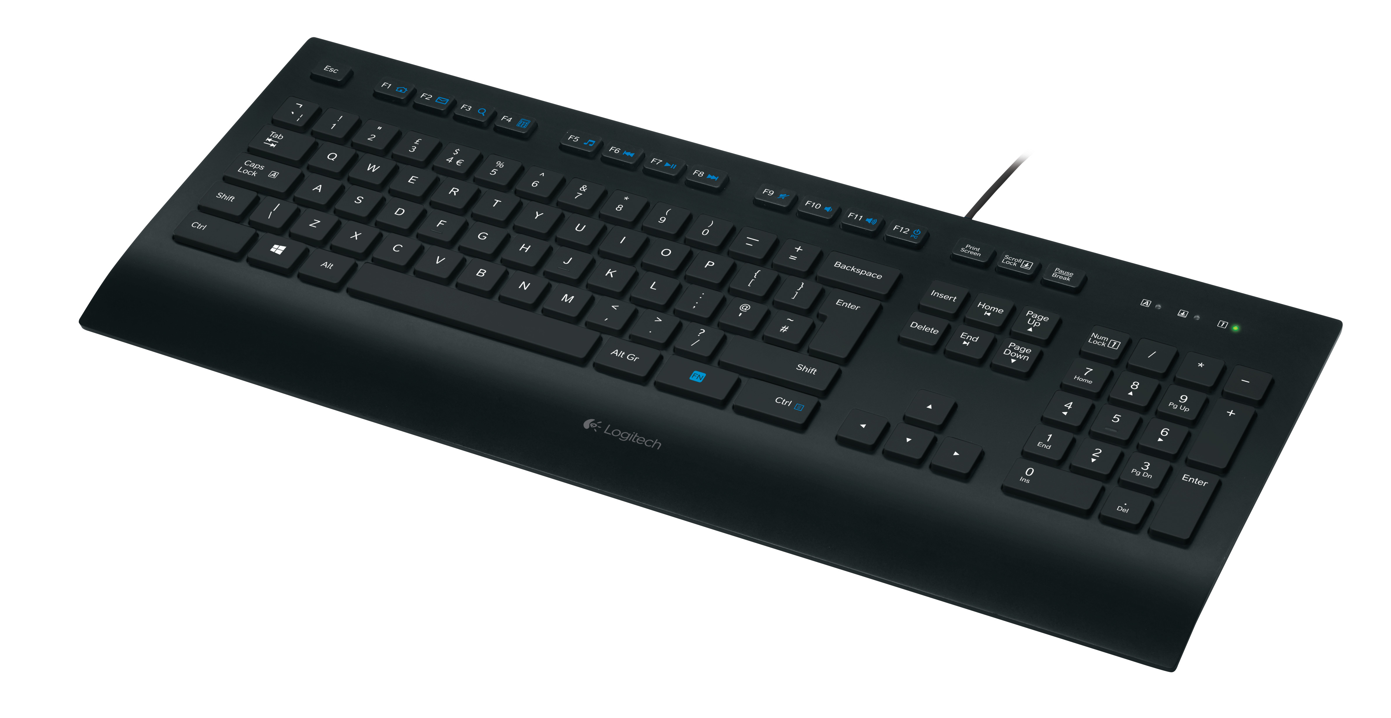Logitech K280e Keyboard for Business DE - Tastatur - USB
