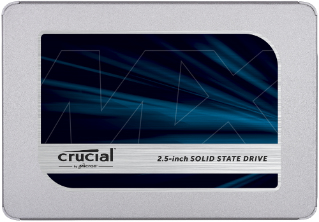 Crucial MX500 SSD 250GB 2.5 Zoll SATA 6Gb/s - interne Solid-State-Drive