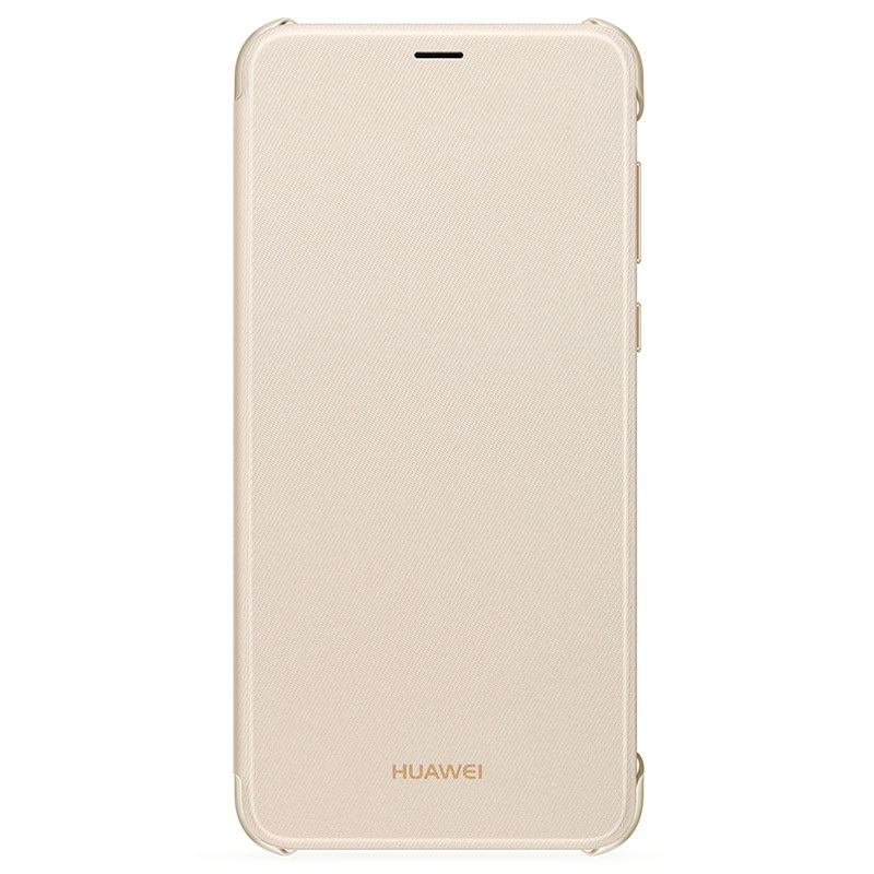 Huawei Flip Cover für P smart gold