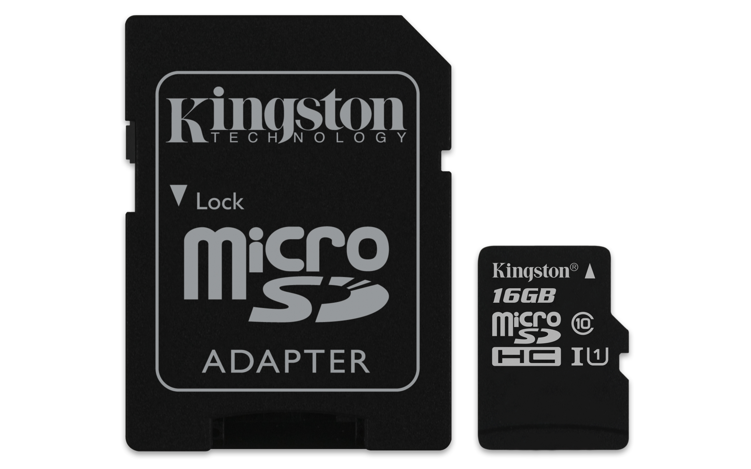 Kingston TF MicroSDHC 16GB  Canvas Select C10 UHS-I up to 80MB/s, adapter